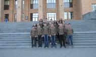 ԵՊՀ ուսանողները պատրաստ են կանգնելու հայկական զինված ուժերի կողքին