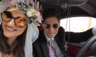 Գոհար Գասպարյանն՝ ամուսնու վթարի ենթարկվելու մասին (լուսանկար)