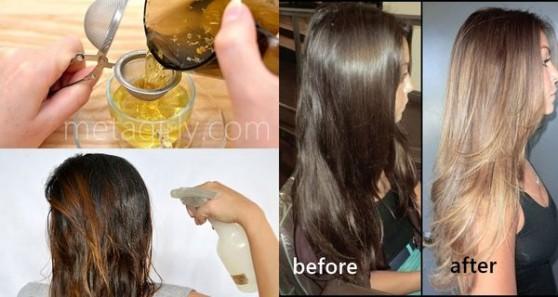 Ինչպես գունաբացել մազերն առանց քիմիական միջոցների