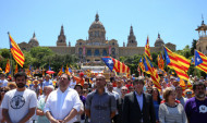 Բարսելոնայում ցուցարարները պահանջում են Կատալոնիայի անկախության վերաբերյալ հանրաքվե անցկացնել