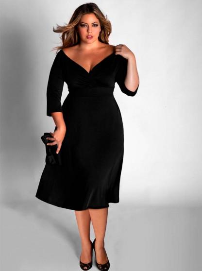 Նորաձև զգեստներ, որոնք կարող են կրել գիրուկ կանայք (ֆոտոշարք)