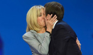 Ծանոթության պահին Ֆրանսիայի նախագահը եղել է 15, իսկ նրա կինը 40 տարեկան