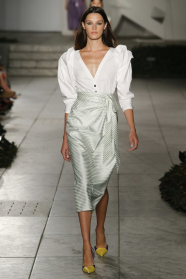 Նյու Յորքի նորաձևության շաբաթ. Carolina Herrera-ի նոր հավաքածուն (ֆոտո)