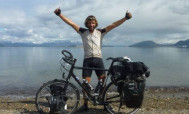 Շոտլանդացին 79 օրում հեծանիվով շուրջերկրյա ճանապարհորդություն է կատարել